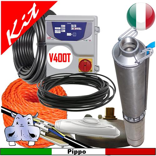 Schema Elettrico Per Pompa Sommersa : Impianto di sollevamento acqua per pozzo con pompa