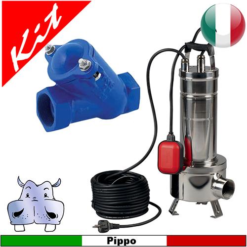 Schema Elettrico Per Pompa Ad Immersione : Impianto di sollevamento acque nere con pompa sommersa dab