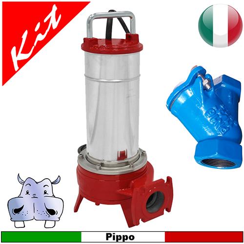 Schema Quadro Elettrico Per Pompa Sommersa : Impianto di sollevamento acque nere con pompa sommersa
