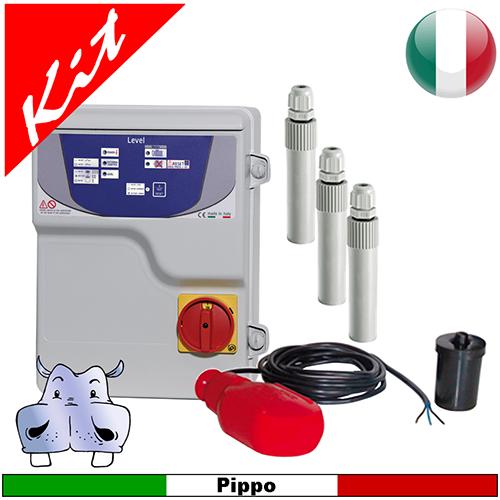 Schema Elettrico Pompa Sommersa : Quadro elettrico level sonde e galleggiante gestione pompe