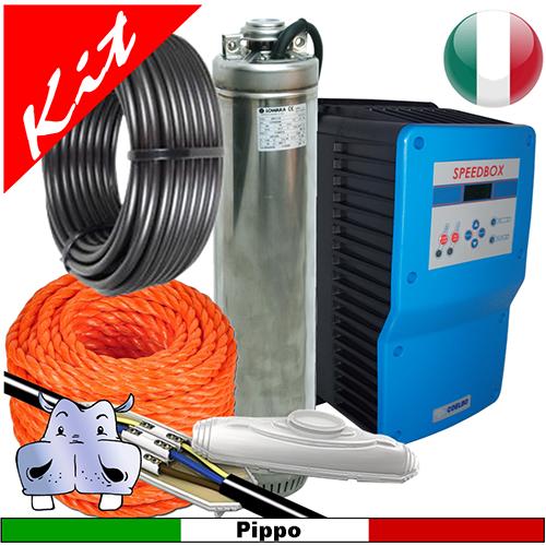 Schema Quadro Elettrico Per Pompa Sommersa Trifase : Impianto di pressurizzazione idrica a pressione costante con pompa