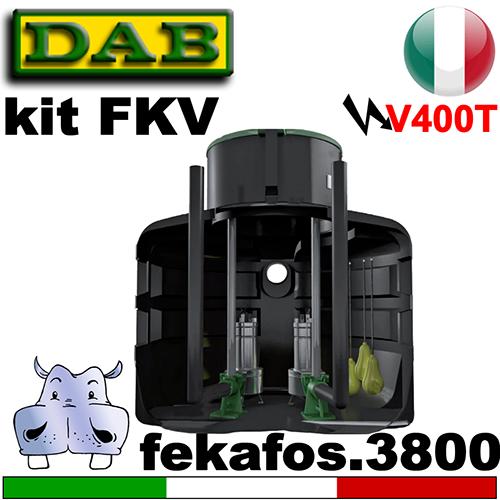 Schema Quadro Elettrico Per Pompa Sommersa Trifase : Impianto di sollevamento per fognature fekafos 3800 2 pompe
